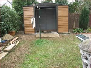 Pose Abri De Jardin Sur Dalle Gravillonnée : renovation du jardin ~ Dailycaller-alerts.com Idées de Décoration