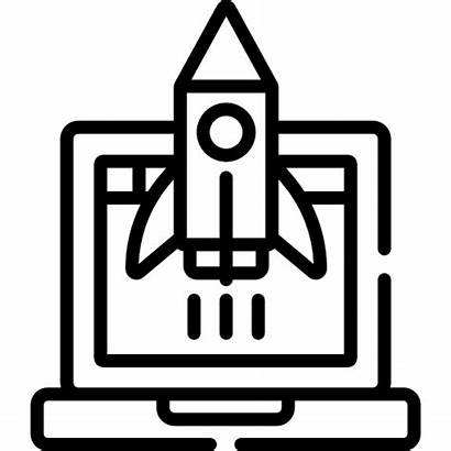 Animation Icon Rocket Icons Erply Pos Digi