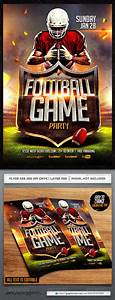 Keynote Game Show Template Football Flyer Template By Industrykidz Graphicriver