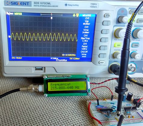 Mhz Frequency Counter With Picfa Lcd Display