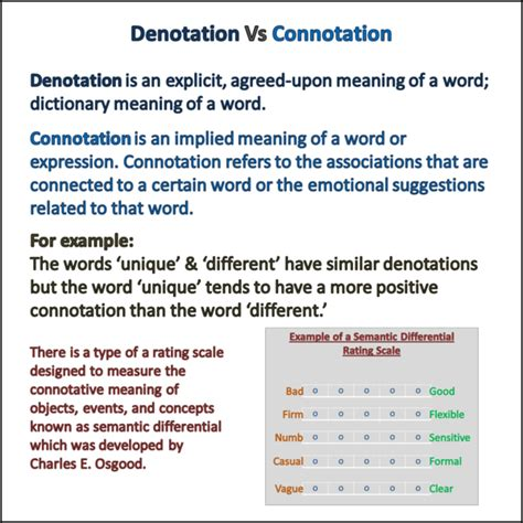 connotations and denotations worksheet worksheets for all