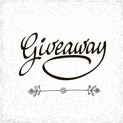 Giveaway Banner Vector Background Contests Social Depositphotos