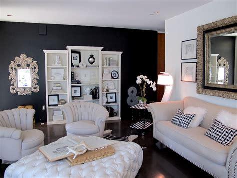 painted  living room wall black jaimee rose