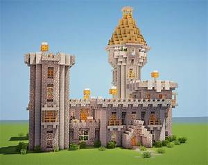Minecraft Simple Castle Layout | www.imgkid.com - The ...