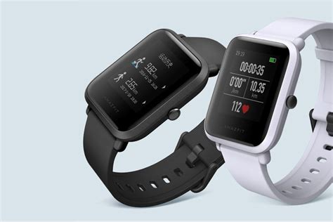 amazfit bip huami gps smartwatch android ios smart
