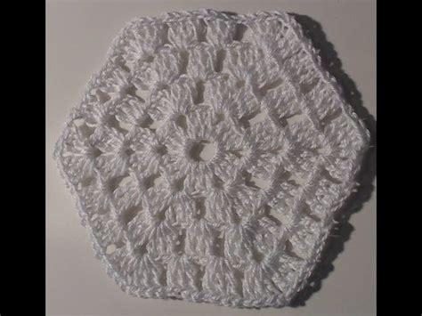 Piastrelle Crochet by Piastrella N 176 5 Forma Esagono Tutorial Uncinetto