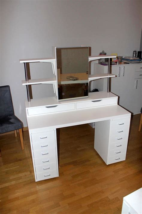 makeup desk with an affordable ikea dressing table makeup vanity ikea
