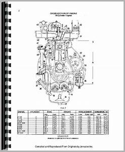 International Harvester 584 Tractor Engine Service Manual