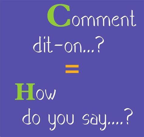 Basic French | Apprendre l'anglais, Phrases en français ...