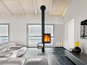 Poele Suspendu Design : 10 po les bois pour un int rieur design ~ Melissatoandfro.com Idées de Décoration