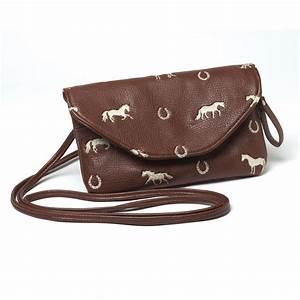 Brown Horse Purse - Horse Handbags Filly ando Co