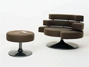 Fauteuil Repose Pied : fauteuil repose pied design id es de d coration int rieure french decor ~ Teatrodelosmanantiales.com Idées de Décoration