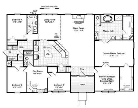 country floor plans best ideas about bedroom house plans country and 4 open