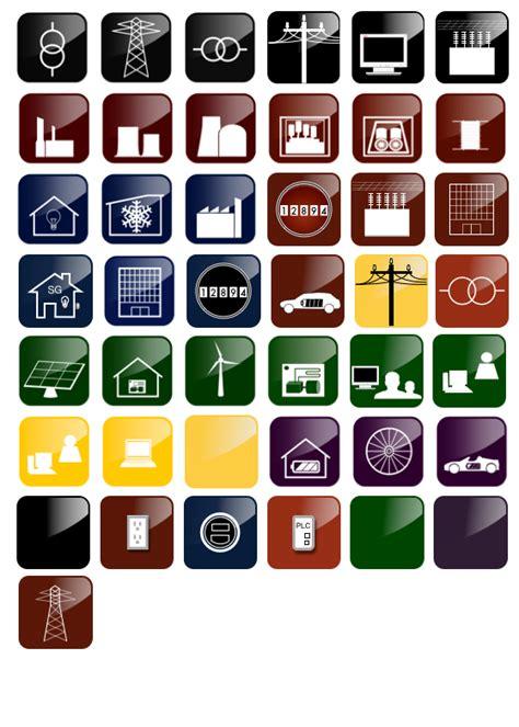 smart grid icons iia graffletopia