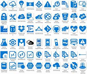 Azure  Cloud And Enterprise Icon Set