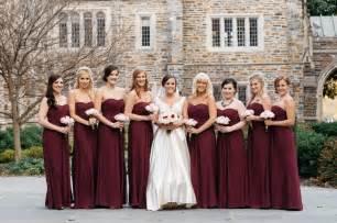 wine color bridesmaid dresses wine color bridesmaid dresses ideas weddceremony