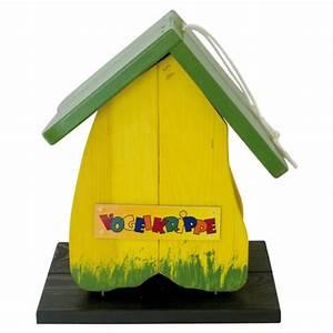 Futterhaus Für Vögel : vogelhaus vogelkrippe holz gelb gr n futterhaus v gel ~ Articles-book.com Haus und Dekorationen