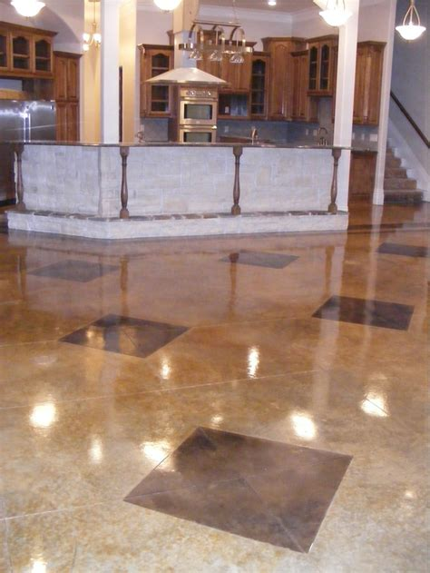 stained concrete floor kitchen 1000 images about acid stained concrete on 5694