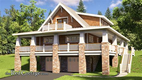 adorable hillside cottage  red cottage
