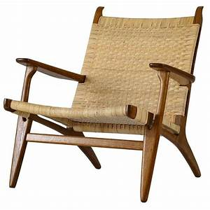 Hans Wegner Chair : hans wegner ch 27 lounge chair at 1stdibs ~ Watch28wear.com Haus und Dekorationen