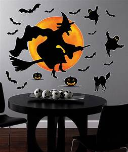 wall clings decals birthdayexpresscom With halloween wall decals