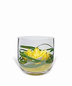 Deko Vasen Mit Blumen : deko glas seerose gelb 16cm jetzt bestellen bei valentins valentins blumenversand blumen ~ Markanthonyermac.com Haus und Dekorationen