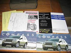 2007 Jeep Compass Owners Manual Owner U0026 39 S Set
