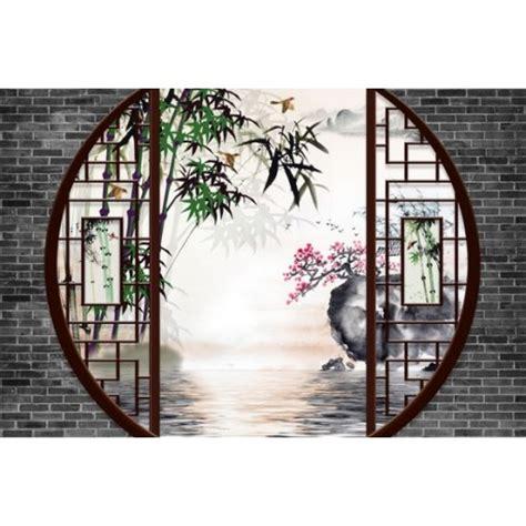chambre fille cheval papier peint 3d asiatique sur meaure paysage jardin