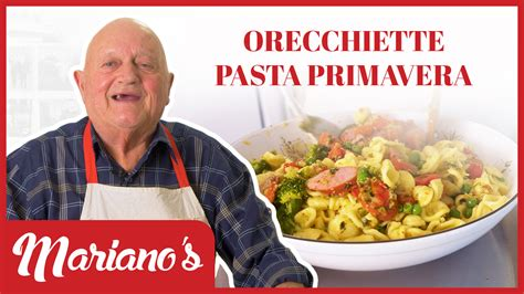 Each end of the year for more than 100 years is celebrated goat for christmas dinner in margarita island, venezuela. Orecchiette Pasta Primavera - Mariano's Cooking - Mariano's Fresh Sausage