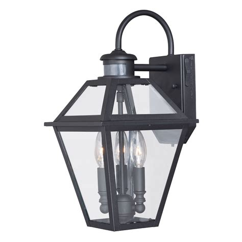 outdoor wall sconce with motion sensor progress lighting