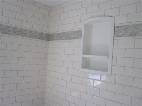 ceramic tile bathroom featuring sonoma tile and wood look