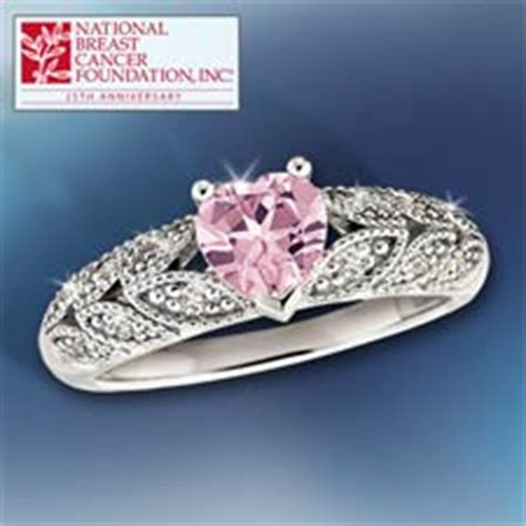 concorde collection hearts  hope ring white topaz