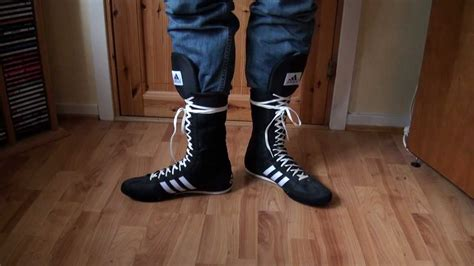 Coolest Boxing Boots With Jeans Tucked In
