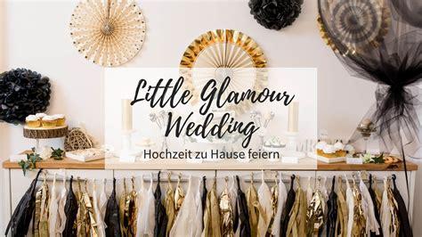 glamour wedding hochzeit zu hause feiern