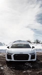 Audi R8 White iPhone Wallpaper - iPhone Wallpapers