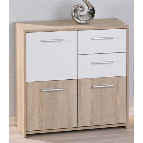 meuble cuisine largeur 30 cm commode 3 portes 2 tiroirs chêne eboli achat vente