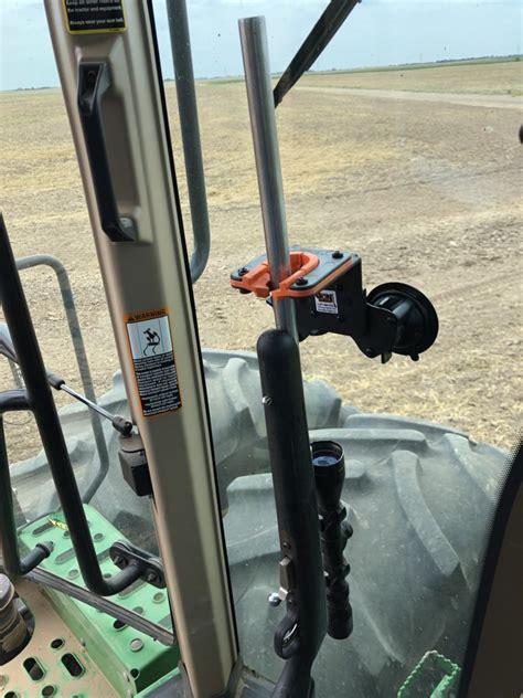 enclosed glass tractor  combine gun rack utv gun racks
