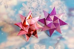 Origami Stern Falten Einfach : origamipage mix von sternen ii ~ Watch28wear.com Haus und Dekorationen