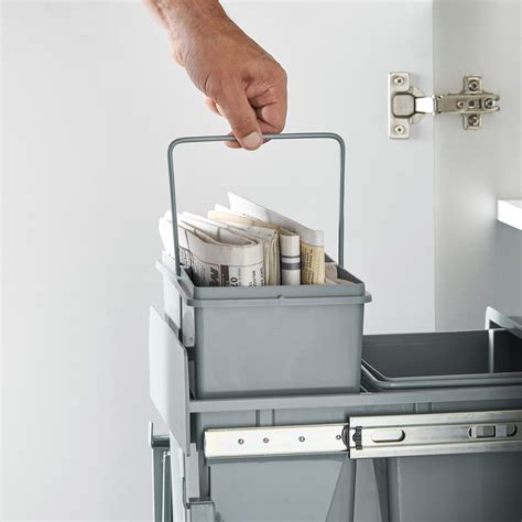 Pull Out Cupboard by Vonhaus Pull Out Cupboard Bin Easy Fit