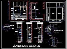 Sliding WardrobeCupboard Working Drawing Autocad File