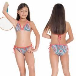 Kids Girls Swimsuits Back