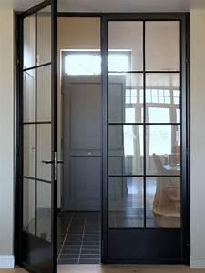 Porte En Métal : installez une porte d 39 atelier dans votre entr e joli place ~ Teatrodelosmanantiales.com Idées de Décoration