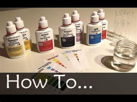 remove nitrates from aquarium how to testing your aquarium water youtube