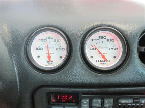 trans temp gauged installed ls1tech camaro and firebird discussion