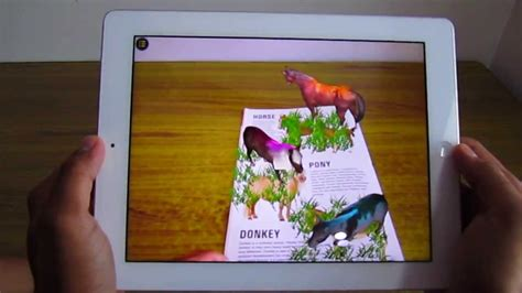 augmented reality  book publishers kids animal book youtube