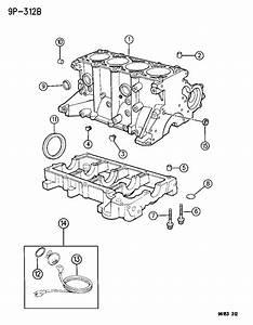Dodge Neon Heater  Engine  Engine Block  Cylinder Block  2
