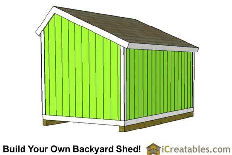 10x12 shed plans 10x12 salt box shed plans saltbox storage shed
