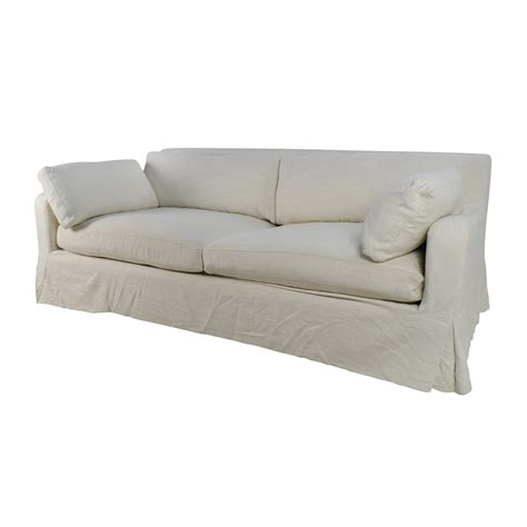 slip covered sofas restoration hardware sofa slipcover sofa collections rh