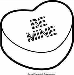 Heart Black And White Clipart - Clipart For Work