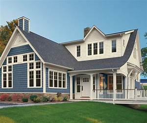 What is the color of blue shake siding?